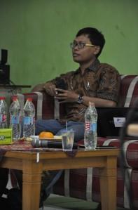 Ketua Aliansi Jurnalis Independen (AJI) Jakarta, Umar Idris